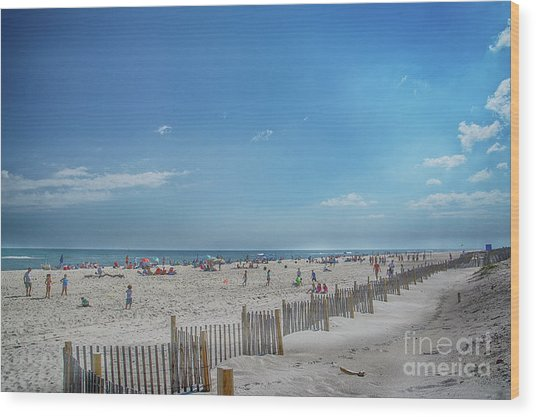 Wood Print featuring the photograph Kismet Family Fun by Judy Hall-Folde