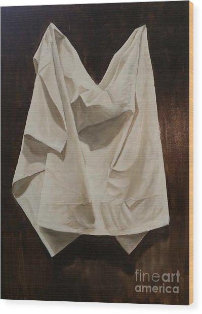 Painting Alla Rembrandt - Minimalist Still Life Study Wood Print