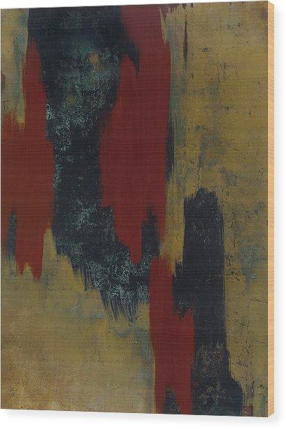 Kline 1 Wood Print by Wayne Berger