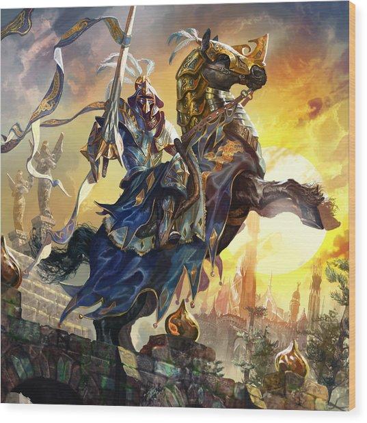 Knight Of New Benalia Wood Print