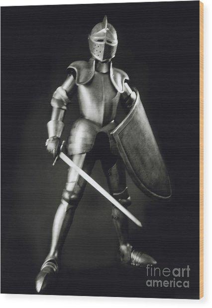 Knight Wood Print