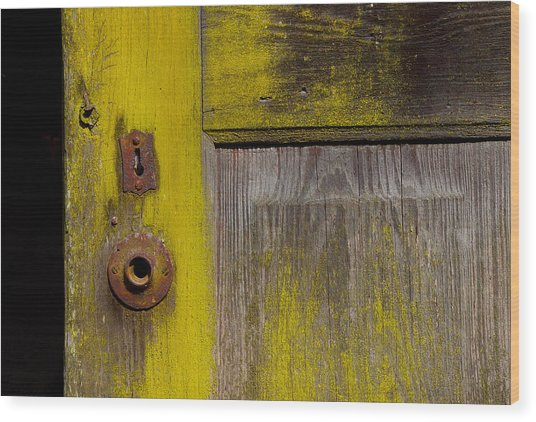 Knobless Wood Print