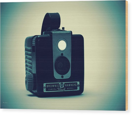Kodak Brownie Wood Print