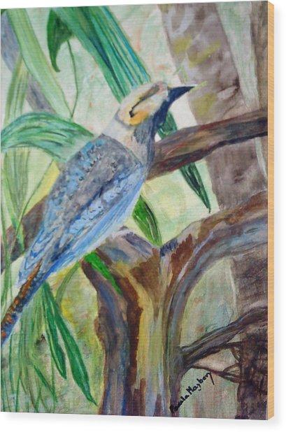 Kookaburra Dalcelo Leachii Wood Print