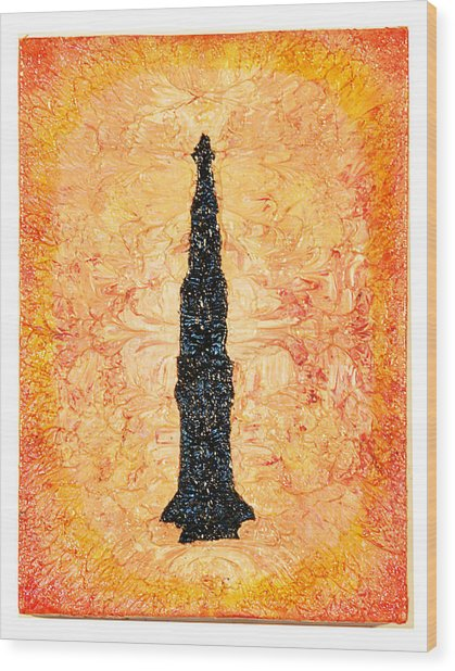 Koro Wood Print by Howard Goldberg