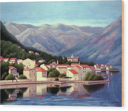 Kotor Montenegro Wood Print