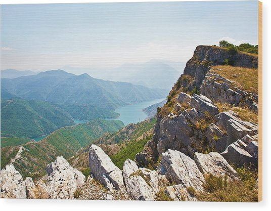 Kozjak Mountain 1 Wood Print by Marjan Jankovic
