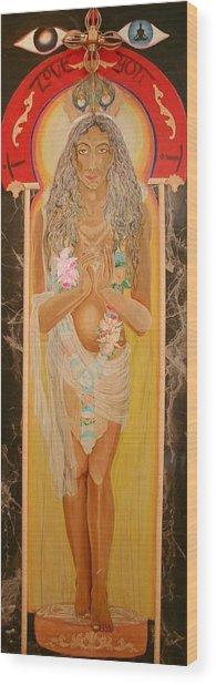 Krsna Avatar Wood Print