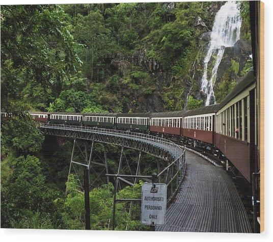 Kuranda Senic Railway Wood Print
