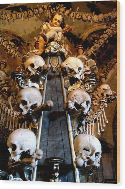 Wood Print featuring the photograph Kutna Hora Cz by Michelle Dallocchio