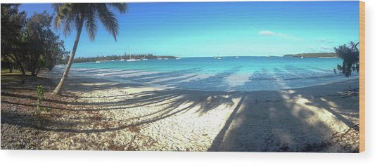Kuto Bay Morning Wood Print