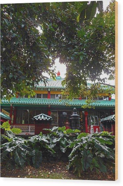 Kwon Yin Temple 4 Wood Print