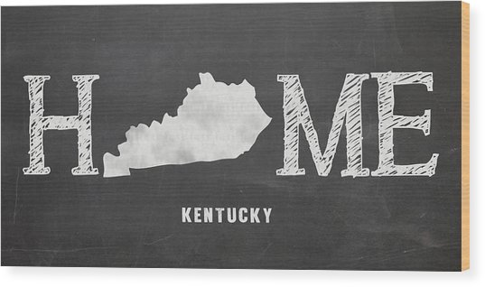 Ky Home Wood Print