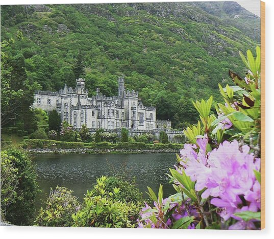 Kylemore Abbey Co Galway Wood Print