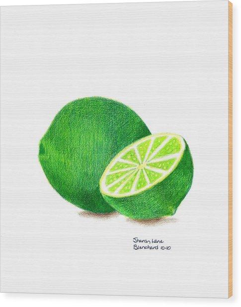 La Chaux Wood Print by Sharon Blanchard