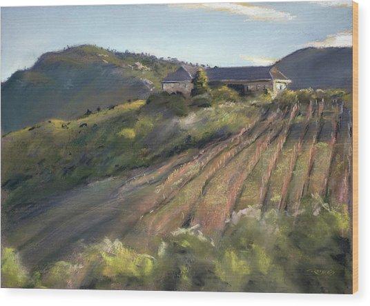 La Vierge Winery Wood Print