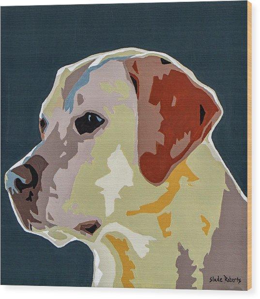 Labrador Wood Print by Slade Roberts