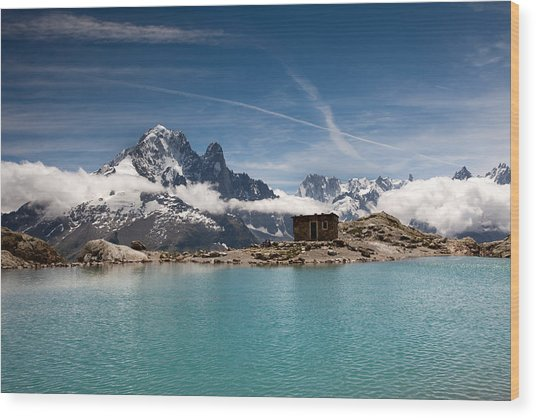 Lac Blanc Wood Print