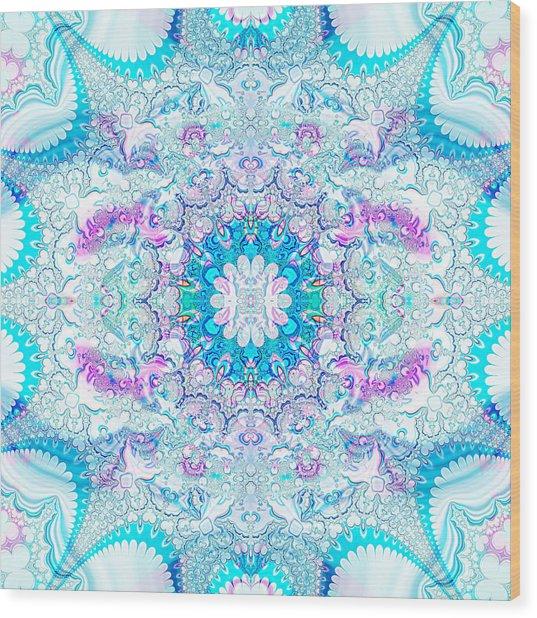 Lacy Mandala Wood Print