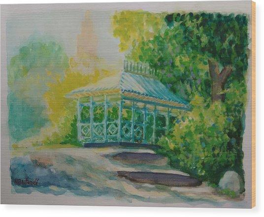 Ladies Pavilion, Cpnyc Wood Print