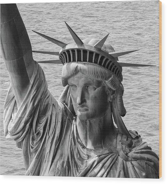 Lady Liberty 1 Wood Print