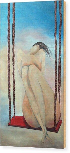 Lady Marmalade Wood Print by Niki Sands