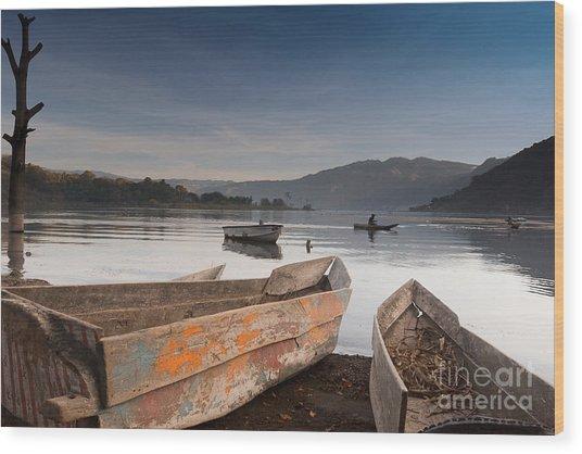 Lago Atitlan Wood Print