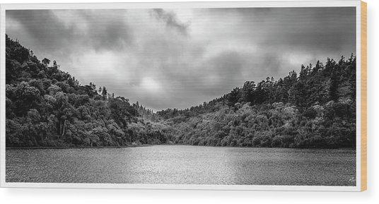 Lagoa-pico Do Itapeva-pindamonhangaba-sp Wood Print