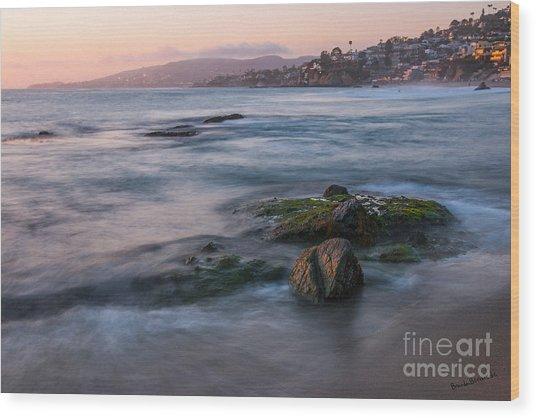 Laguna Beach Wood Print