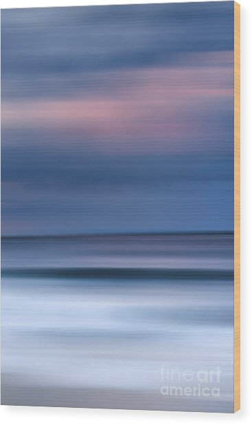Laguna Hues - 3 Of 3 Wood Print