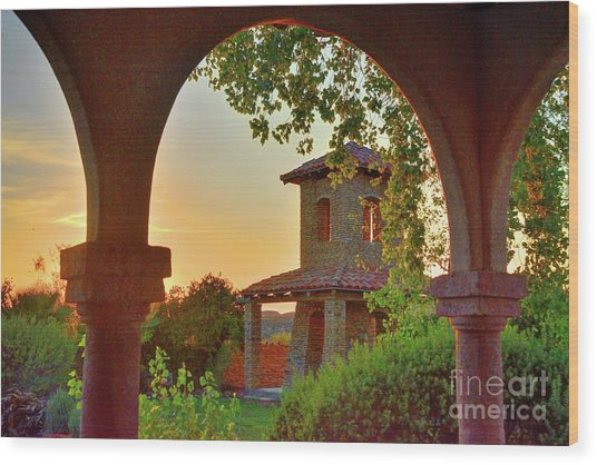 Lajitas Sunrise Wood Print
