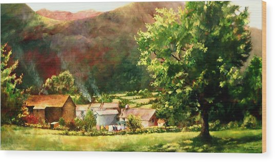 Lake District In May Wood Print