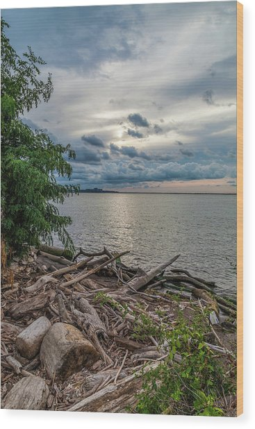 Lake Erie Serenade Wood Print