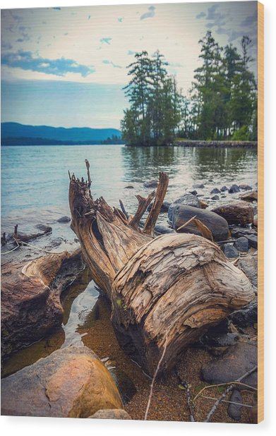 Lake George Palette Wood Print