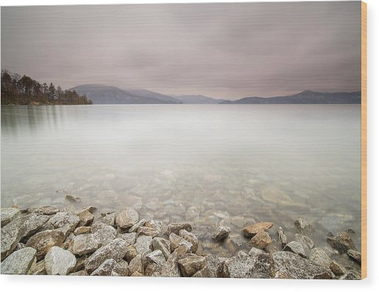 Lake Jocassee 12 Wood Print by Derek Thornton