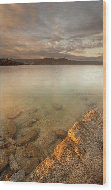 Lake Jocassee 17 Wood Print by Derek Thornton