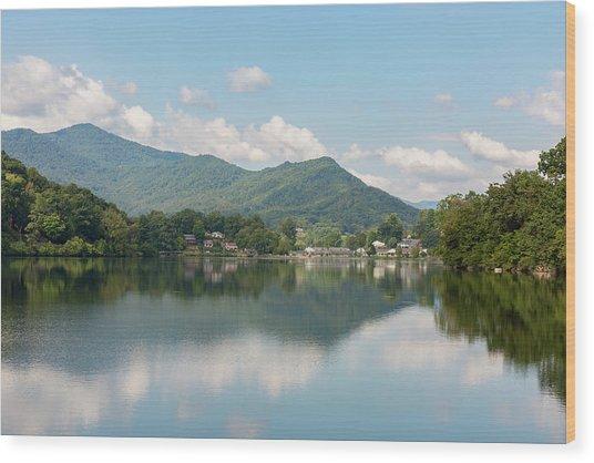 Lake Junaluska #1 - September 9 2016 Wood Print
