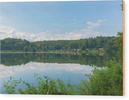 Lake Junaluska #3 September 9 2016 Wood Print