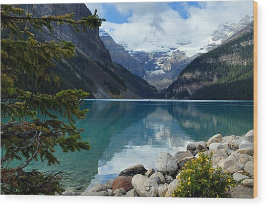 Lake Louise 2 Wood Print