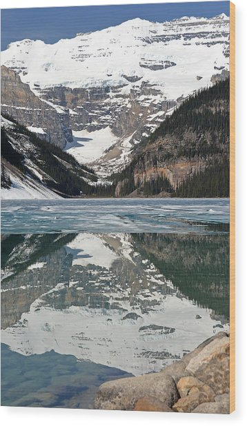 Lake Louise Wood Print