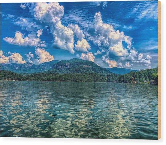 Lake Lure Beauty Wood Print