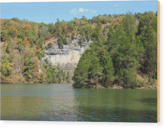 Lake Of The Ozarks Wood Print