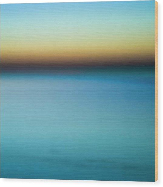 Lake Ontario - Abstarct Photography Wood Print