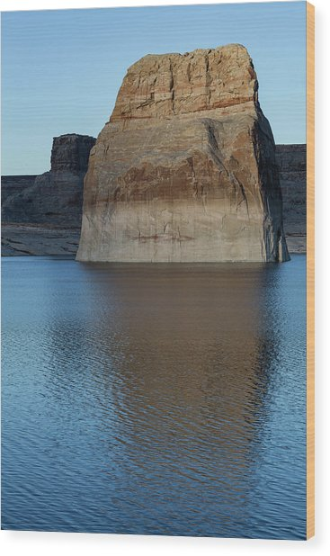 Lake Powell Monolith Wood Print