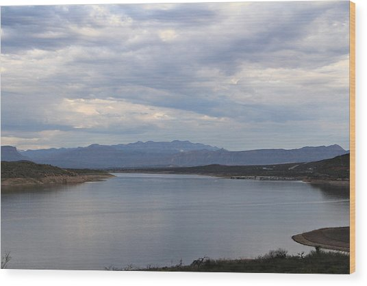 Lake Roosevelt 2 Wood Print