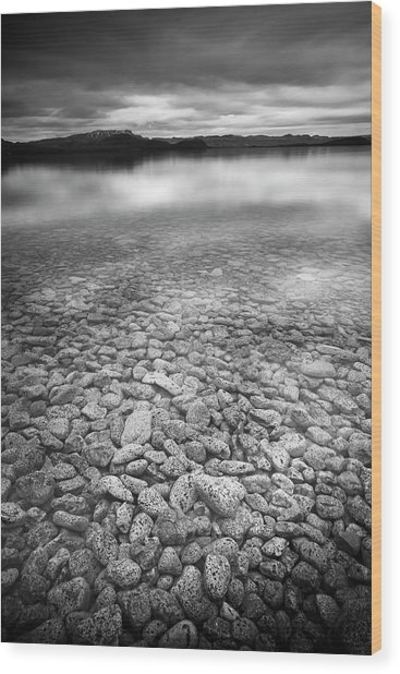 Lake Thingvallavatn Iceland Wood Print