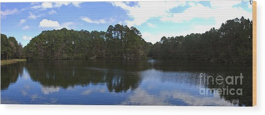 Lake Thomas Hilton Head Wood Print