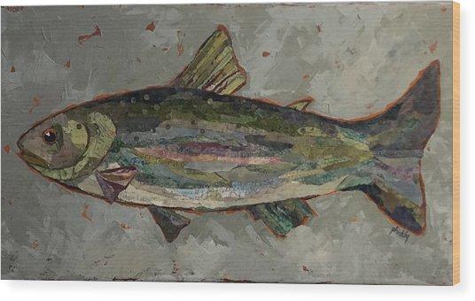 Lake Trout Wood Print