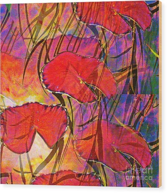Lakeside V Wood Print