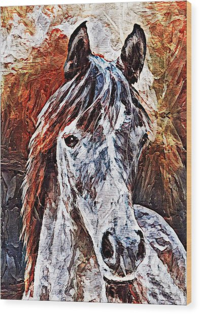 Lakota Wood Print